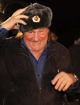 L'acteur est devenu citoyen russe il y a un peu plus de deux ans. © Keystone-A