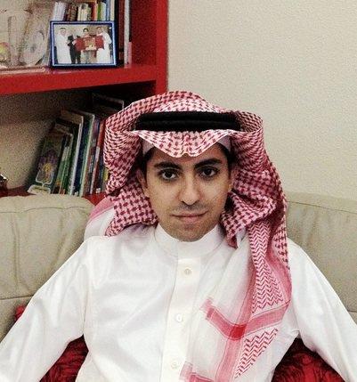 Le blogueur Raif Badaoui a été condamné dans son pays à 1000 coups de fouets et dix ans de prison. © DR