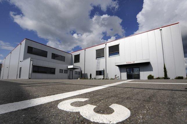 L'entreprise Medistri est installée dans la zone industrielle dideraine depuis 2007. Elle a commencé avec sept employés. © MCFREDDY-A