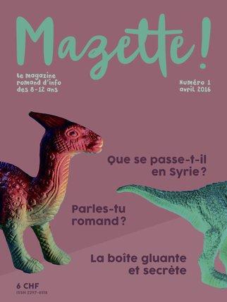 La couverture du premier numéro, disponible en librairie. © Mazette!