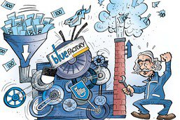 BlueFactory, machine à millions