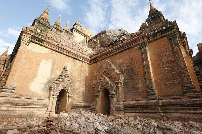 Bagan évalue les dégâts après le séisme de mercredi en Birmanie