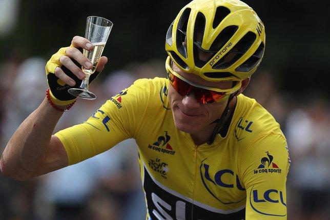 Chris Froome remporte son 3e Tour de France