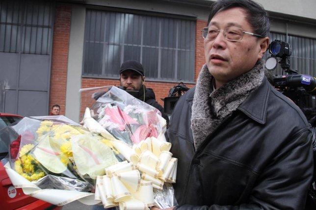 Heurts à Florence entre la communauté chinoise et la police