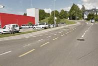 Accident entre un bus et un véhicule à Bulle