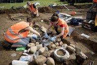 Une nécropole de la fin de l'âge du Bronze découverte à Rossens