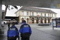 Un poste de police dans la gare