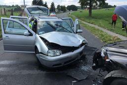 Une collision frontale fait cinq blessés à Billens