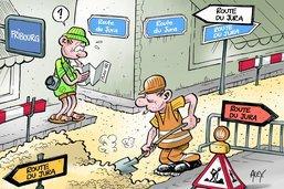 Fribourg: du gravier jurassien pour rénover les rues