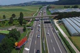 Un blessé grave dans un accident sur l'autoroute