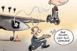 Solar Impulse redescend sur terre