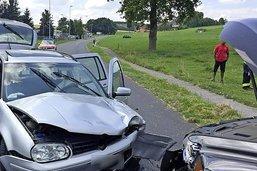 Huit blessés sur les routes fribourgeoises
