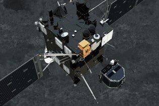 La sonde Rosetta coupe ses communications avec Philae