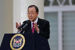 Ban Ki-moon appelle à une trêve olympique pour les JO de Rio