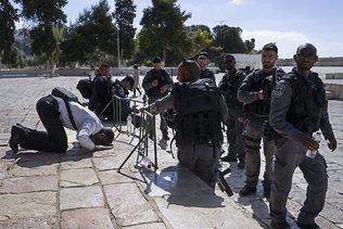 Visites de non-musulmans sur l'esplanade des Mosquées suspendues