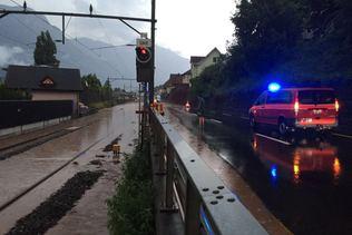 Violents orages sur la Suisse alémanique: un disparu à Schwyz