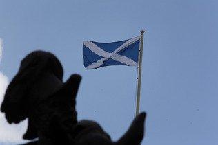 Manifestation pour un 2e référendum d'indépendance à Glasgow