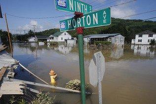 Inondations: Obama déclare l'état de catastrophe naturelle