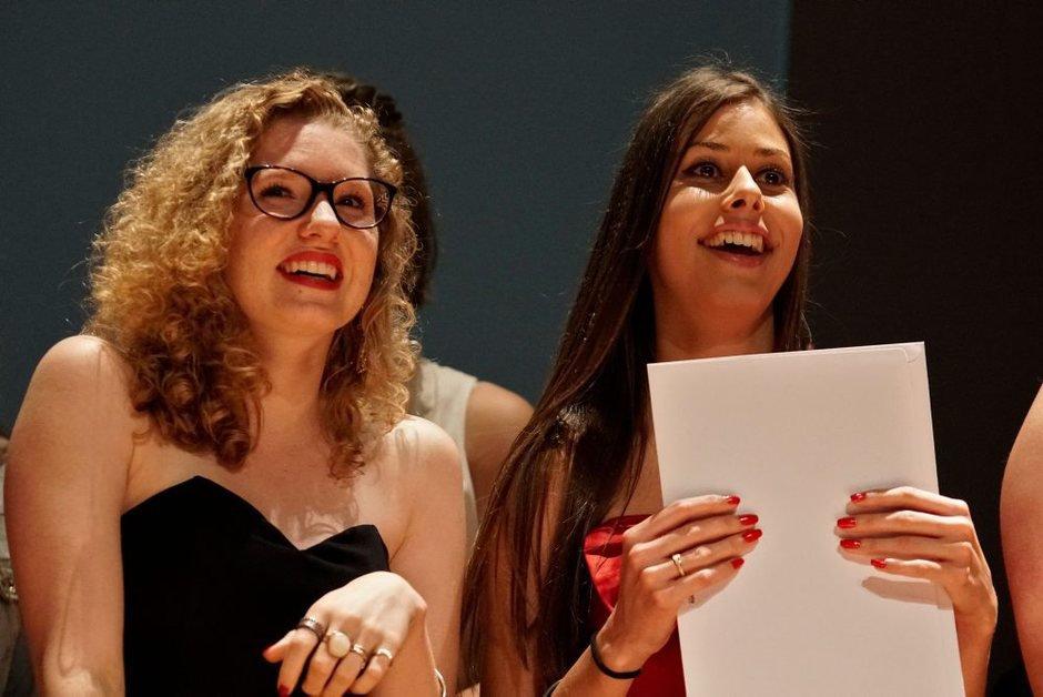 La remise des diplômes à l'ECGF