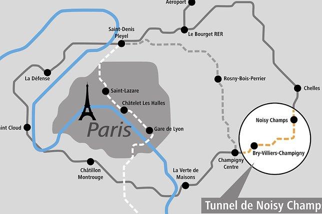 Implenia réalisera un tunnel pour le métro parisien
