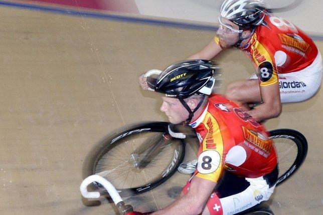 Loïc Perizzolo gagne la course à l'élimination
