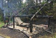 Un incendie détruit une cabane au Mouret