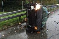 Un accident sur l'autoroute fait quatre blessées