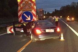 Une conductrice heurte un véhicule signalant un rabattement sur l'A1