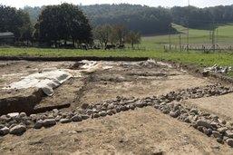 Vestiges archéologiques découverts à Grolley