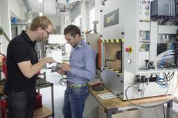 Un étudiant dope la production de PMF-System