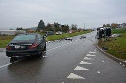 Six blessés dans une collision à Bussy