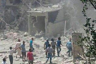 Alep sous les bombes, les hôpitaux débordés