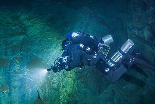 La grotte submergée la plus profonde du monde est tchèque
