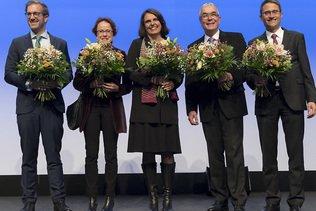 Majorité rose-verte confirmée à Bâle-Ville