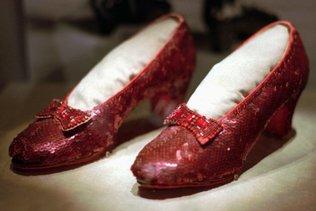 Plus de 300'000 dollars pour restaurer les chaussures de Dorothy