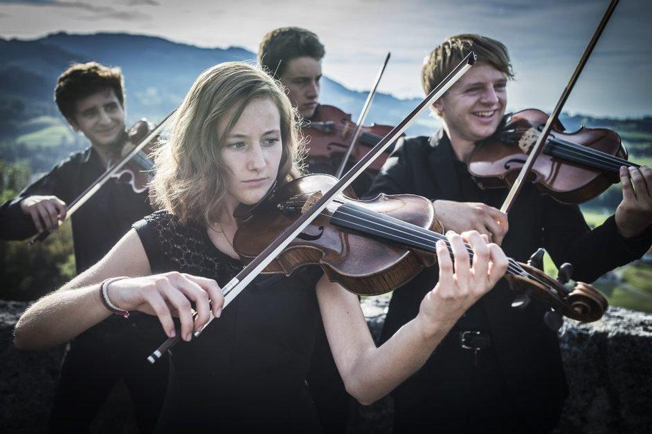 L'Orchestre des Jeunes de Fribourg à Gruyères