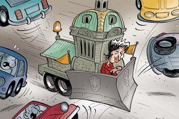 FORTA: Doris Leuthard lutte contre les engorgements routiers