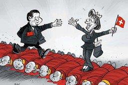 Tapis rouge pour Xi Jinping