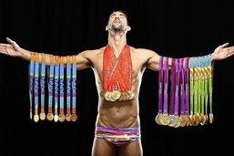 Michael Phelps, le dieu de l'Olympe