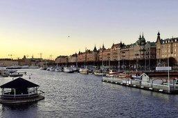 Stockholm, avant le crépuscule