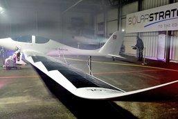 L'avion SolarStratos a dévoilé ses ailes à Payerne