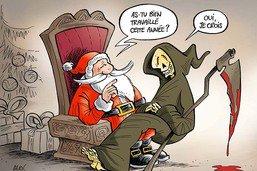 La visite au Père Noël