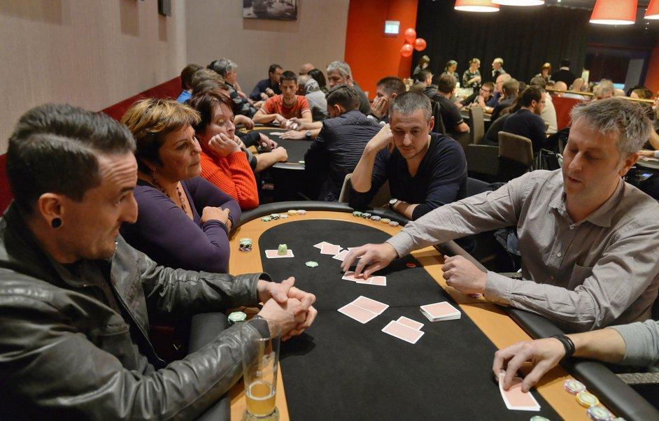 Un poker gagnant pour le Téléthon