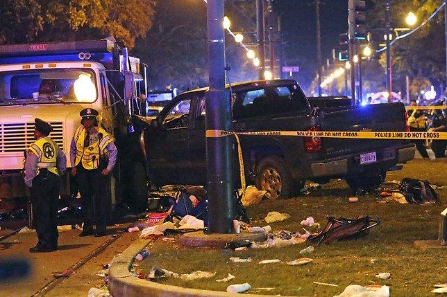 Un conducteur ivre blesse 28 personnes à La Nouvelle-Orléans