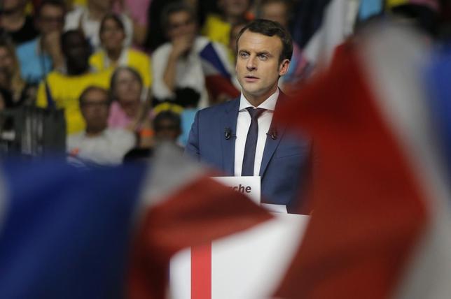 L'Aubaine pour Macron