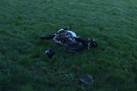 Un motard grièvement blessé dans une collision