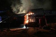Le feu dans deux granges au Pâquier