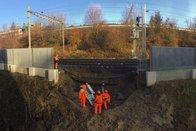 Un glissement de terrain coupe une voie CFF à Lausanne