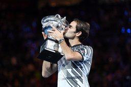 Les 18 titres de Federer en Grand Chelem