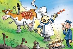 L'acupuncture sur vaches, nouvelle tendance